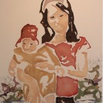 Day 53 – June 27th – Woman w Baby