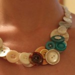 Day 86 – July 30th – Button Necklace